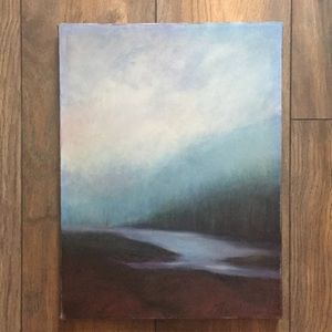 Vintage Signed Canvas Painting